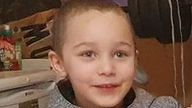 The five-year-old boy who died was named Logan Mwangi