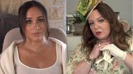 Meghan released a video with Melissa McCarthy to launch the 40x40 project for her 40th birthday. Pic: Archewell