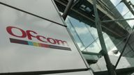 The offices of Ofcom (Office of Communications) in Southwark, London.