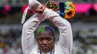 The IOC is investigating the gesture made by Raven Saunders on the podium