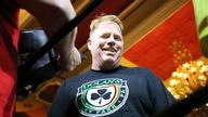 """Half brother of Meghan Markle, Thomas """"The Duke"""" Markle Jr,won his celebrity boxing match against Tim Kudgis, Saturday night at the Showboat Casino in Atlantic City, NJ after Henry """"Nacho"""" Laun did not show up for the fight June 8, 2019 Photo Credit : Star Shooter ***House Coverage*** /IPX"""