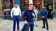 Tom Cruise visits Indian restaurant in Birmingham