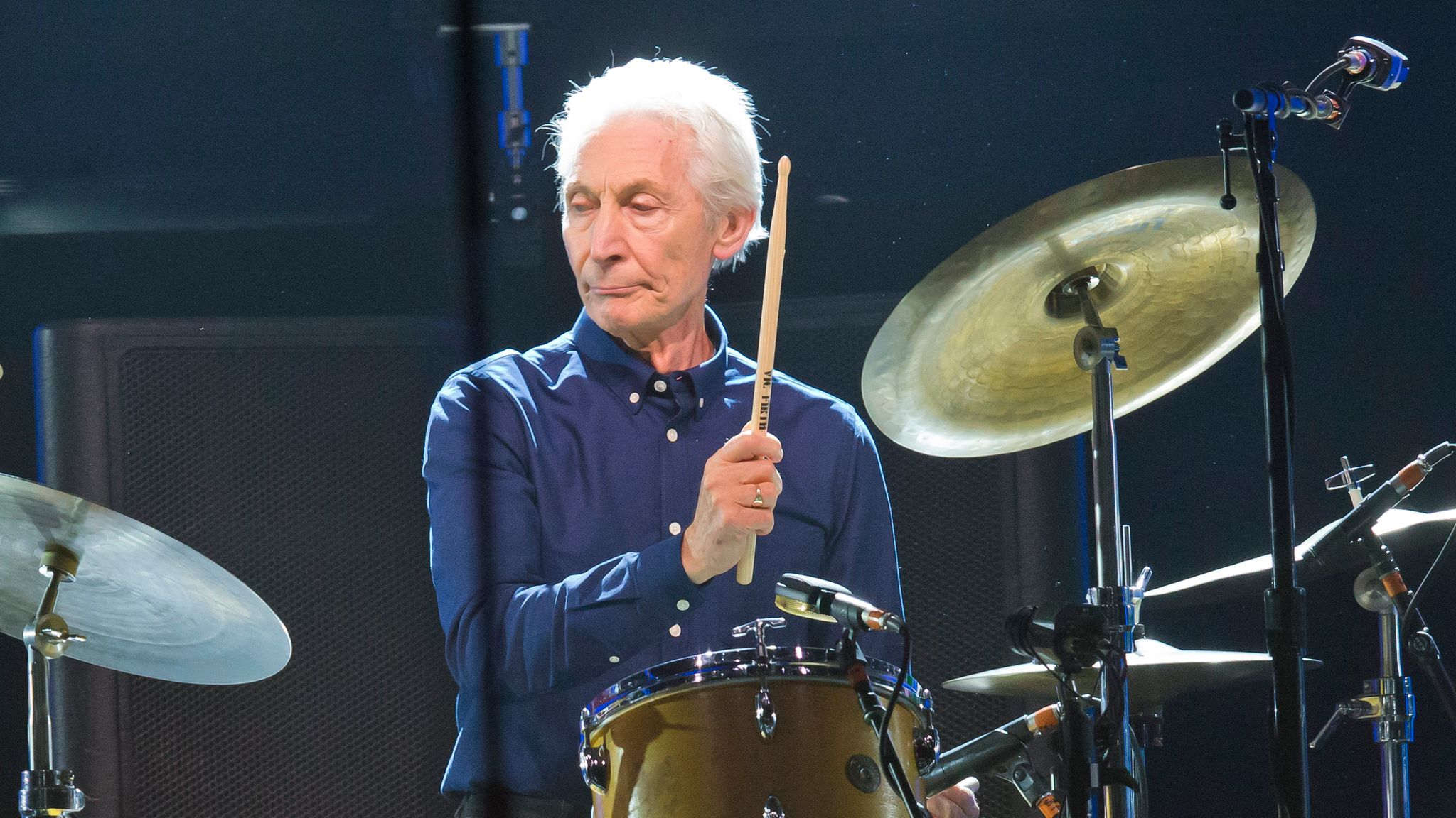 Charlie Watts: Rolling Stones drummer dies aged 80 | Ents & Arts News | Sky  News