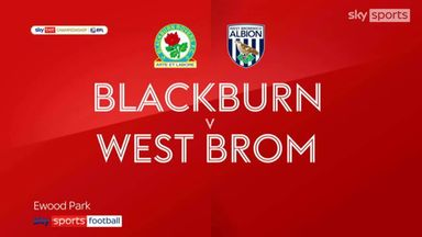 Blackburn 1-2 West Brom