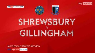Shrewsbury 2-1 Gillingham