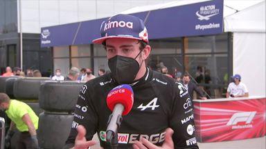 Alonso 'super happy' for Ocon