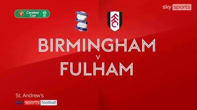Birmingham 0-2 Fulham