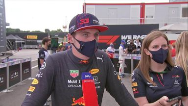 Verstappen: I was taken out by a Mercedes again
