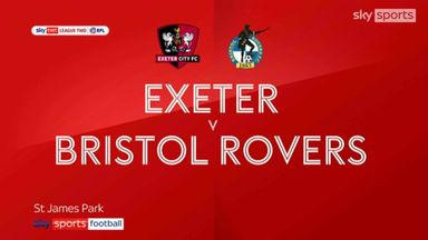 Exeter 4-1 Bristol Rovers