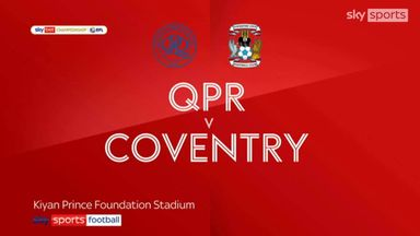 QPR 2-0 Coventry
