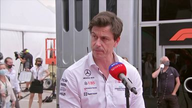 Wolff sorry about first-lap incident