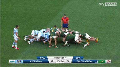 Argentina 10-29 South Africa