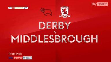 Derby 0-0 Middlesbrough