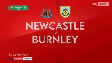 Newcastle 0-0 Burnley (3-4 Pens)
