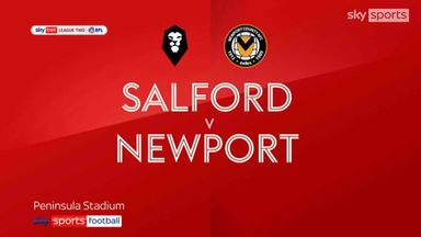 Salford 3-0 Newport