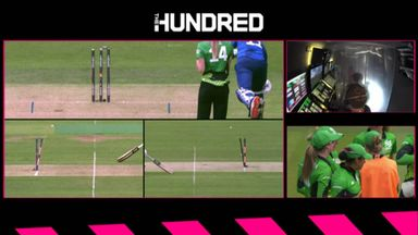 Incredible run out from Wellington!
