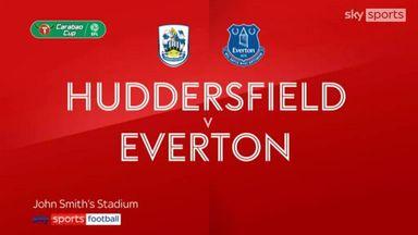 Huddersfield 1-2 Everton