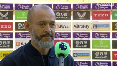 Nuno: I'm very proud of my team
