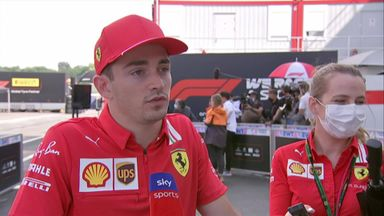 Leclerc: I tried to be as cautious as possible