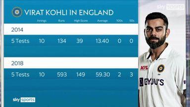 Atherton analyses Kohli's progression