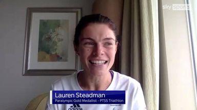 'I can't believe I won triathlon gold'