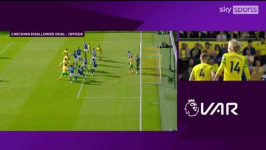 Should Norwich's goal have stood?