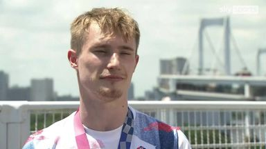 Laugher: Tokyo medal means more than anything