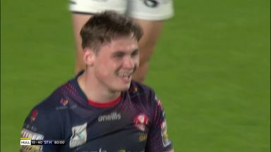 Welsby completes hat-trick with stunning try