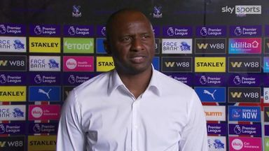 Vieira 'frustrated' with draw