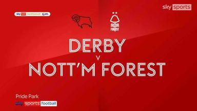 Derby 1-1 Nottingham Forest