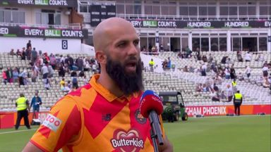 Ali delighted with run chase