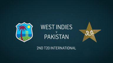 W Indies v Pakistan: 2nd T20
