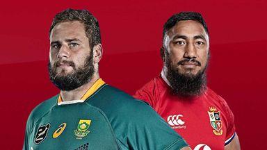South Africa v Lions 2nd Test