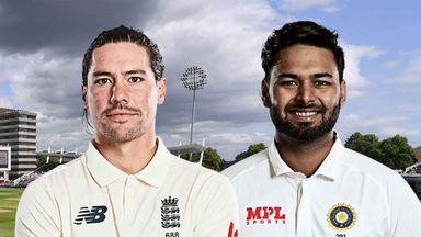 Eng v India 1st Test D2 Bitesize