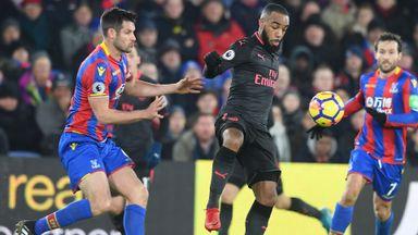 PL: Crystal Palace v Arsenal 16/17