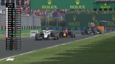 Verstappen and Schumacher battle it out!