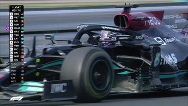 Hamilton finally overtakes Alonso