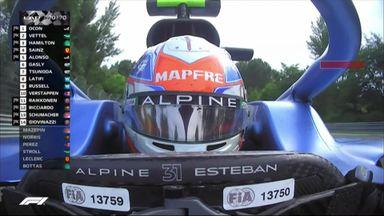 Winning moment: Alpine team radio