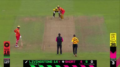 Livingstone let off after terrible drop!