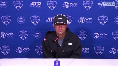 Osaka breaks down in tears at press conference