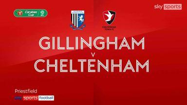 Gillingham 1-1 Cheltenham (4-5 pens)