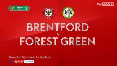 Brentford 3-1 Forest Green