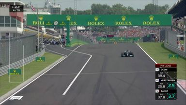 Bizarre restart: Hamilton only driver on grid!