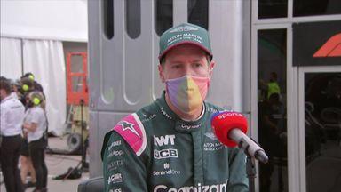 Vettel praises faultless Ocon