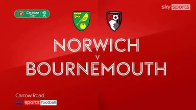 Norwich 6-0 Bournemouth