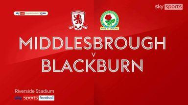 Middlesbrough 1-1 Blackburn