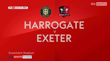 Harrogate 1-1 Exeter