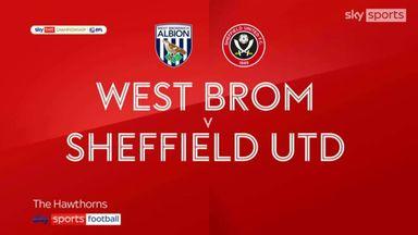 West Brom 4-0 Sheffield United