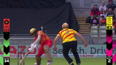 Brunt's brilliant slower ball deceives Verma