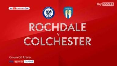 Rochdale 1-1 Colchester